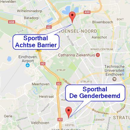 Sport halls BCEindhoven